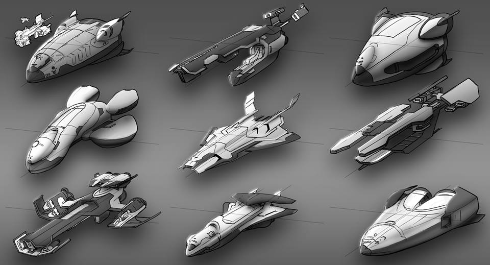 Main Ship designs. Needed to protect crew, transport and travel through space.