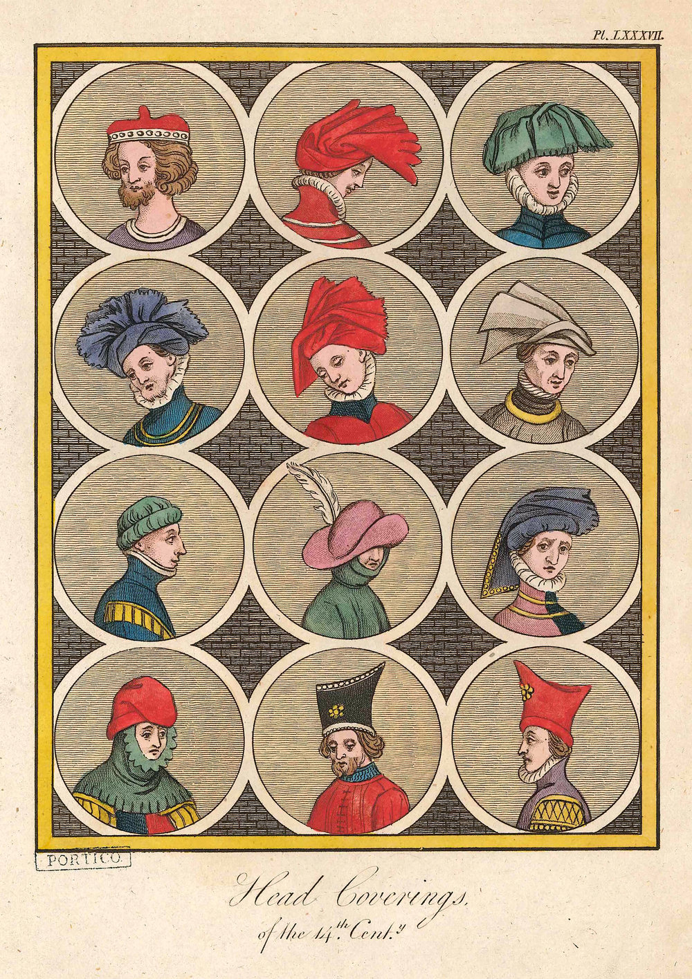 A Complete View of the Dress and Habits of the People of England, Joseph Strutt, Fancy Pants, The Portico Library, 2019.jpg