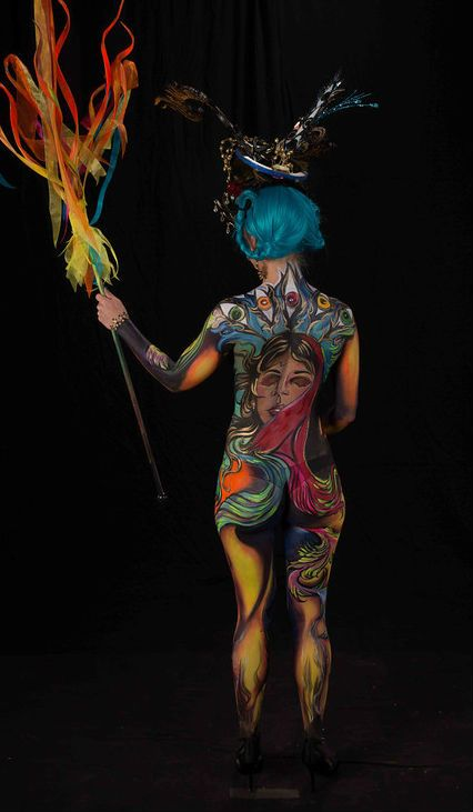 "Living Art America 2013 Atlanta – ""PHOENIX RISING"" Heather Ferguson, model"