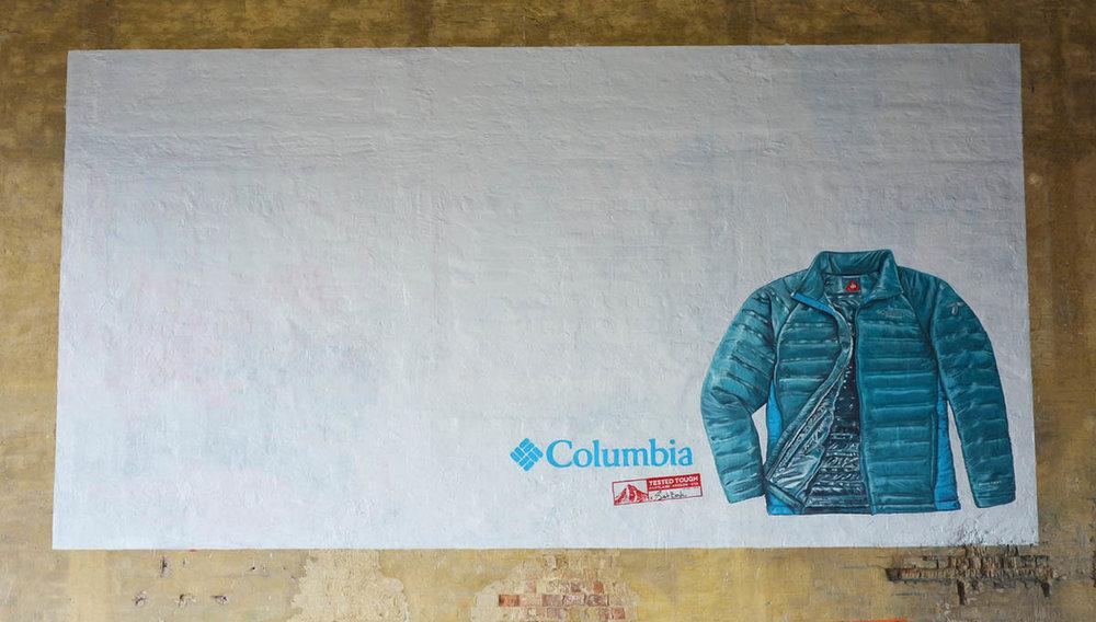 reklámfestés+Columbia+Falfestmény Tűzfalfestmény Tűzfalfestés Vertigo Murals dekorációs falfestés.jpg