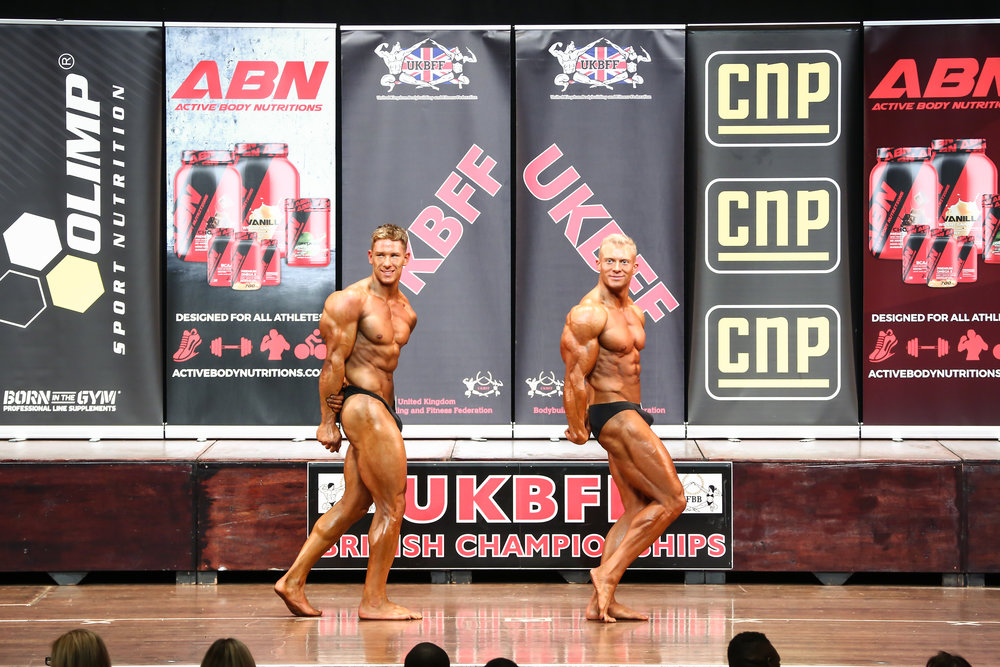 Going head-to-head for the overall title at the British Championships. PHOTO: Christopher Bailey