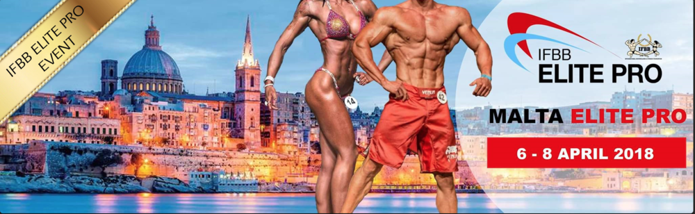 The IFBB Malta Elite Pro is the second of this year's European Elite Pro events.