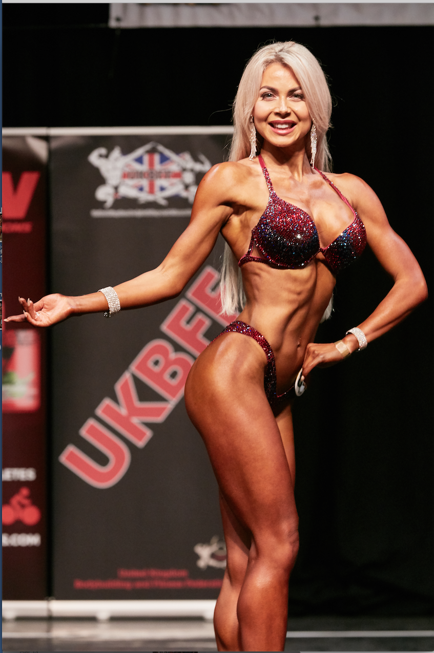 Lisa Graham will represent the UK in bikini fitness. PHOTO: Christopher Bailey