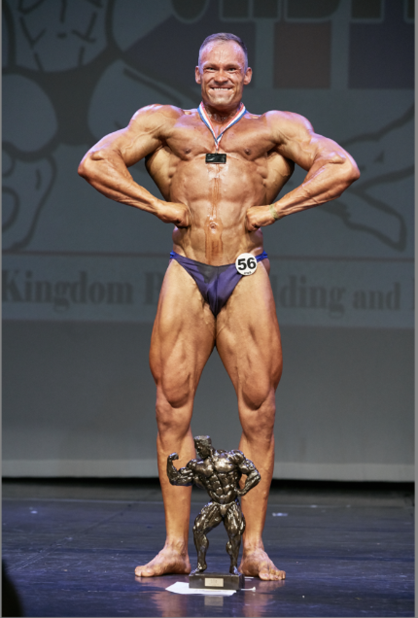 Former British junior champ Bogdanas Rudycevas wins the intermediate over-85 kg class. PHOTO: Christopher Bailey