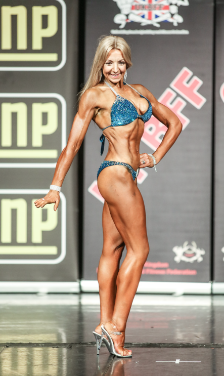 Clare Pritchard made her debut in last year's show and has since represented the UK at the IFBB European Championships.