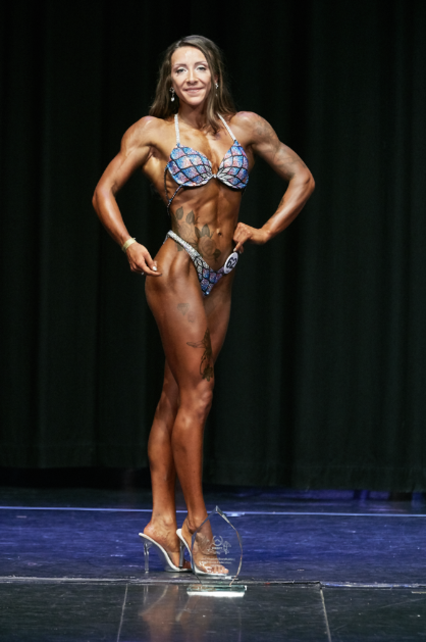 Bodyfitness champion Amy Hale. PHOTO: by Christopher Bailey