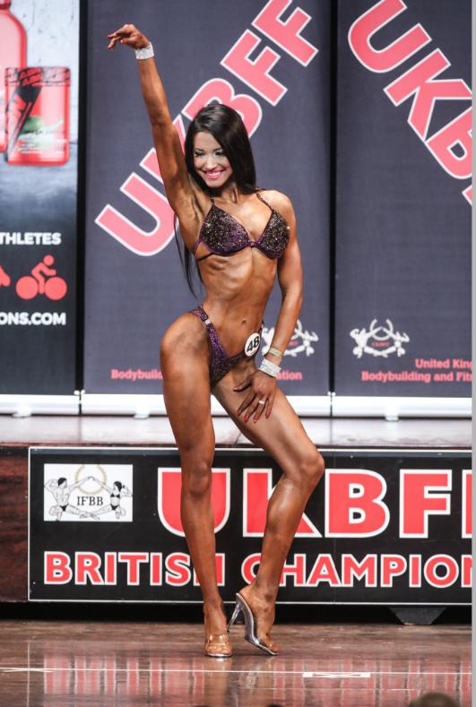Reigning British junior bikini fitness champion Marta Mila will compete in the seniors. PHOTO: Christopher Bailey