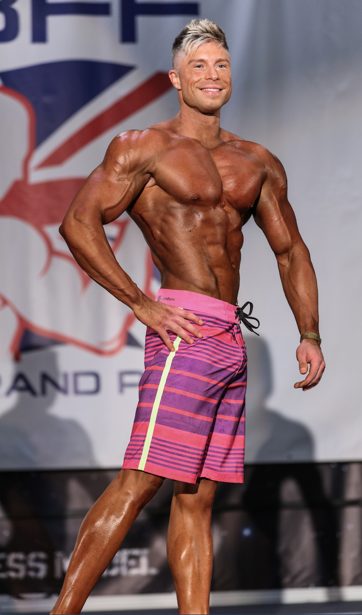 Men's physique star Rasto Valent is going for glory in the IFBB Elite Pro show.