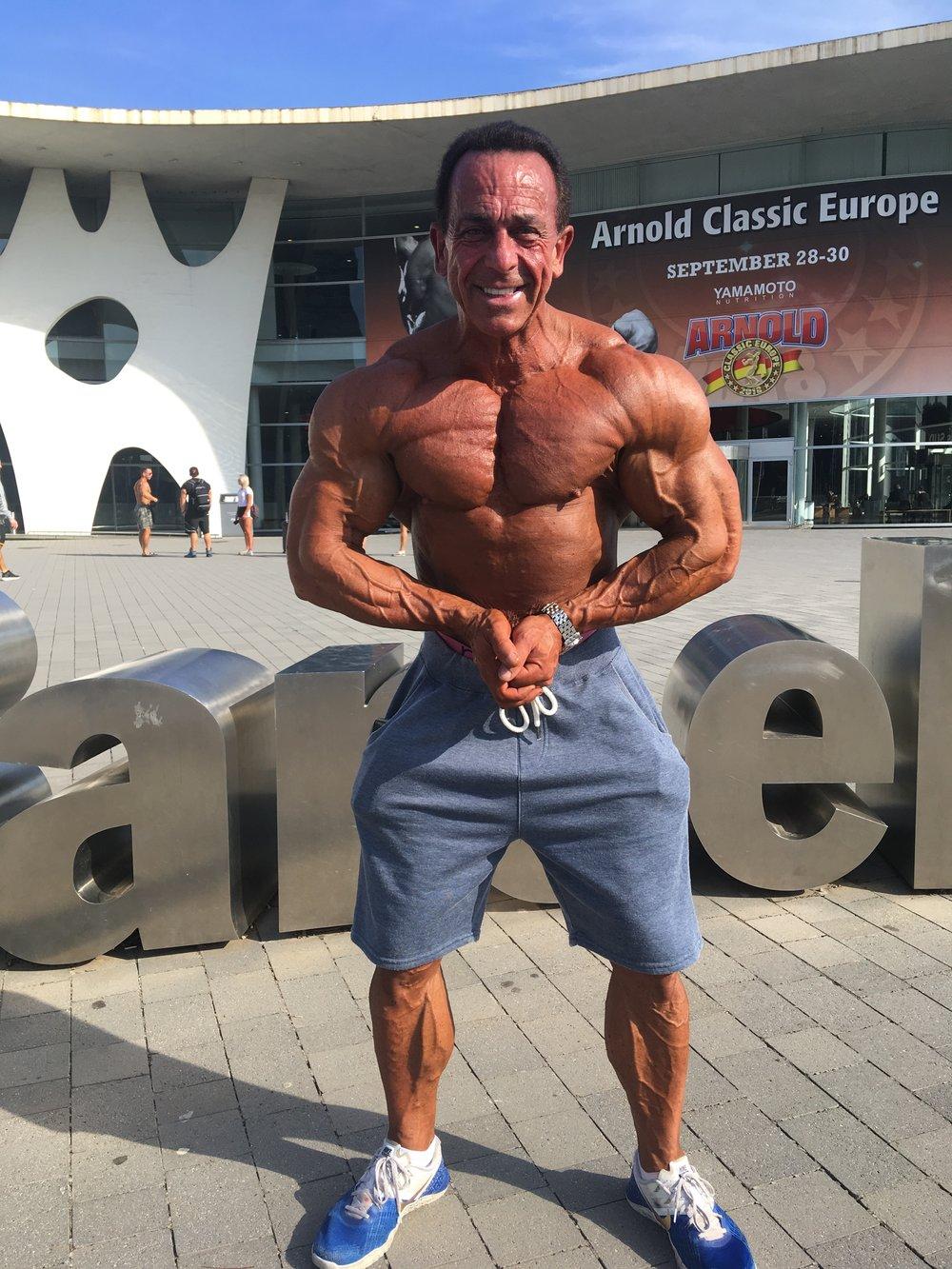 Gold medallist Nick Swann