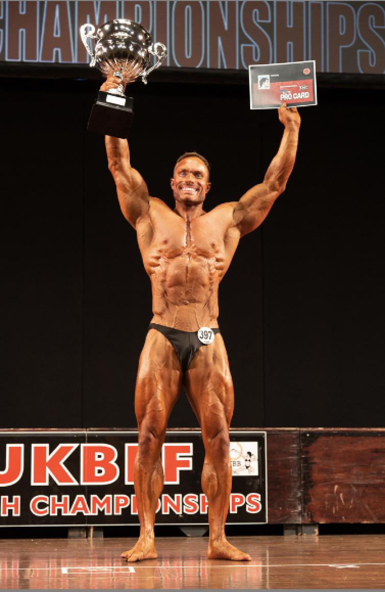 Classic bodybuilding champion Austin Williams. PHOTO: Kevin Horton