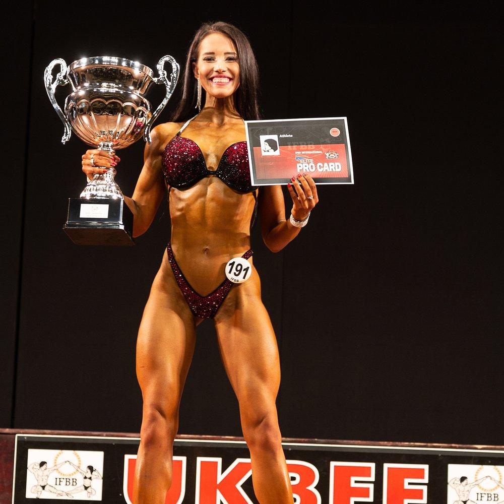 UKBFF British Championships -