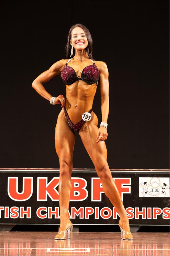 Marta Mila - new British IFBB Elite Pro in bikini fitness