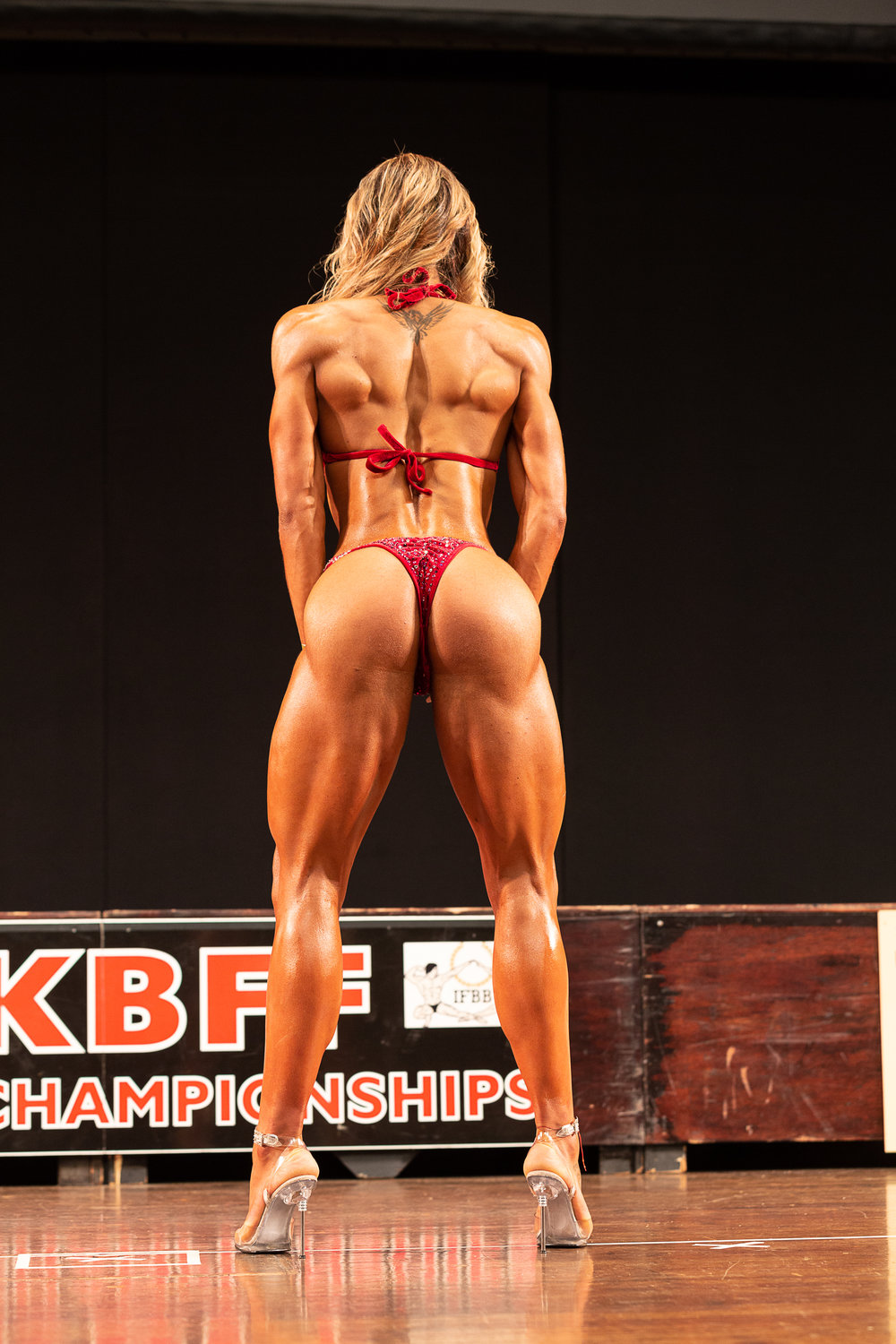 Alaura Galeru made her mark in 2018 and is now an IFBB Elite Pro in wellness. PHOTO: Kevin Horton