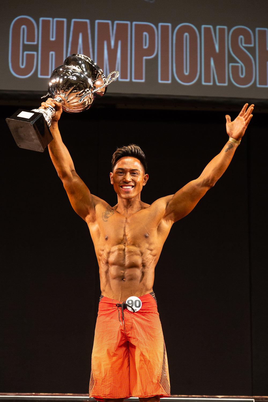 British men's physique champion El Noval.