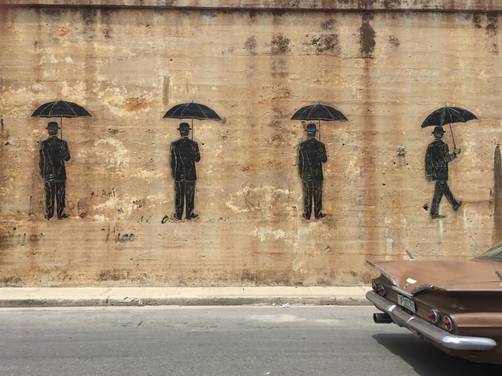Cuban graffiti art is amazing