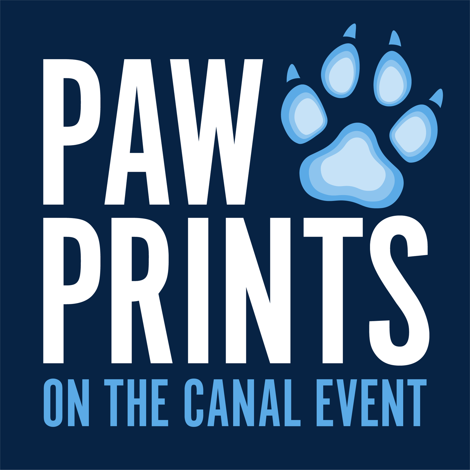 Paw Prints on the Canal Event