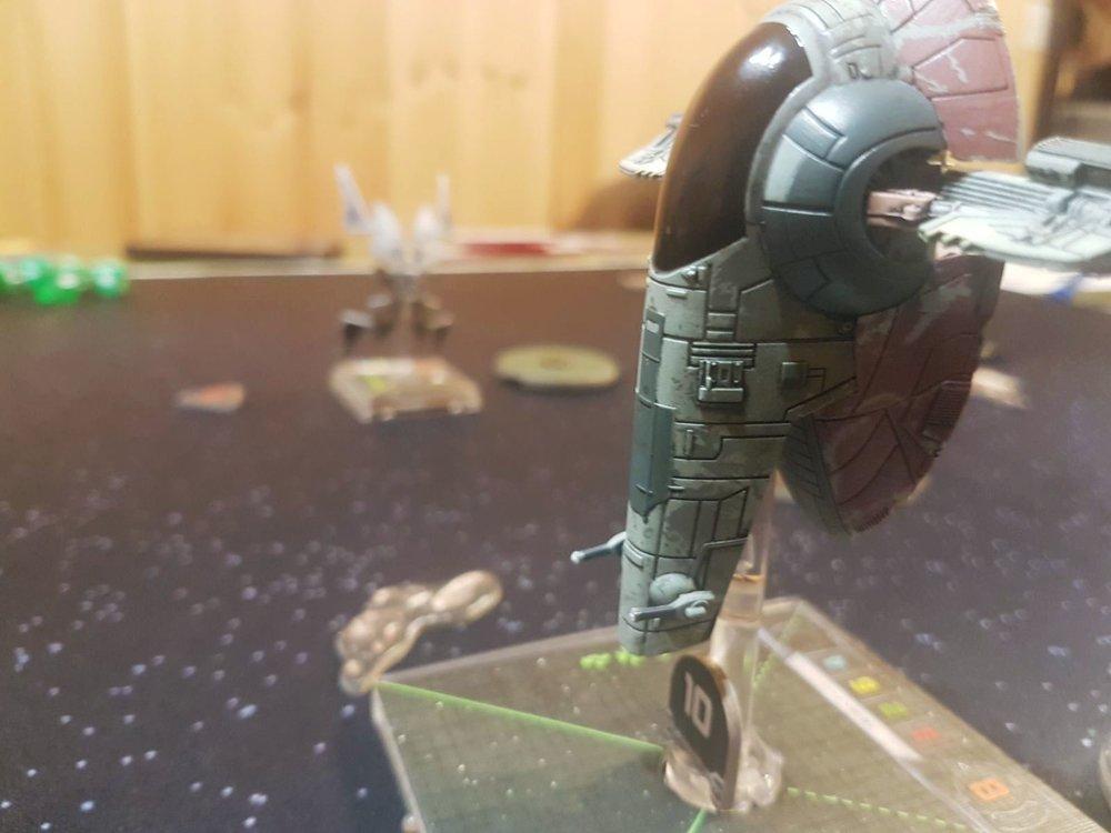 X-Wing game in progress