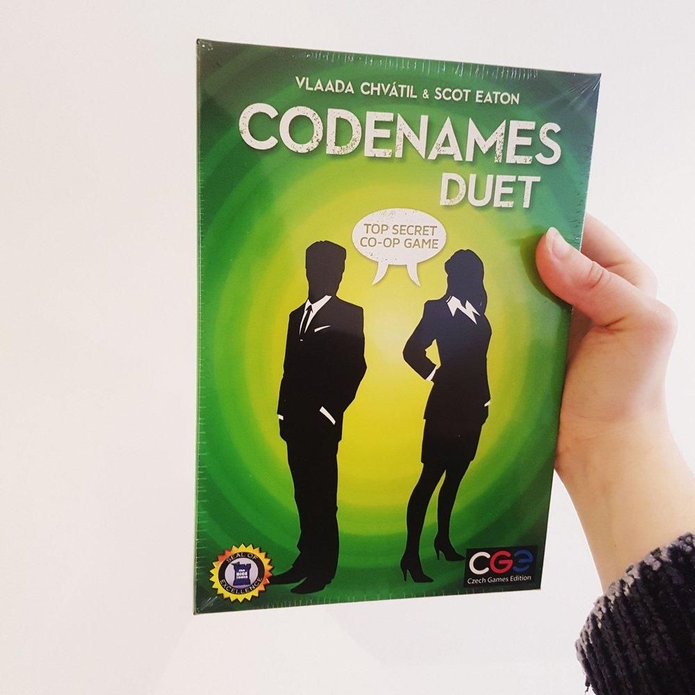 Codenames Duet -