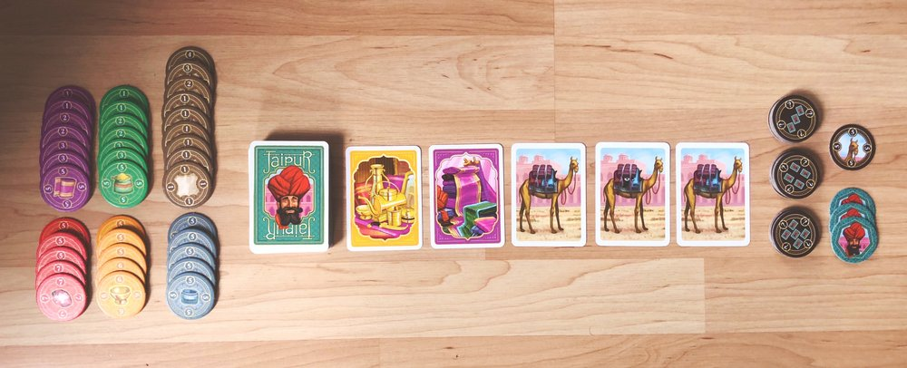 A game of Jaipur