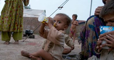 pakistan floods: reza khan finally gets his milk - The Guardian newspaper, September 7, 2010