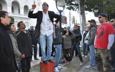 suddenly free to speak, tunisians can't stop - Time Magazine, January 26, 2011