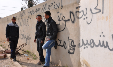 after the revolution, young tunisians still looking for work - Time Magazine, February 7, 2011