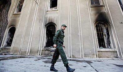syria's revolt: how graffiti stirred an uprising - Time Magazine, March 22, 2011