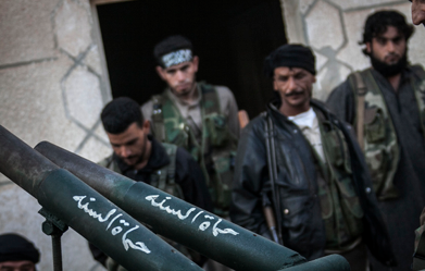 syrian opposition groups stop pretending - The New Yorker, September 26, 2013