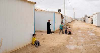 on zaatari's street of widows, syria refugees survive on kindness - Al-Jazeera America, November 1, 2013