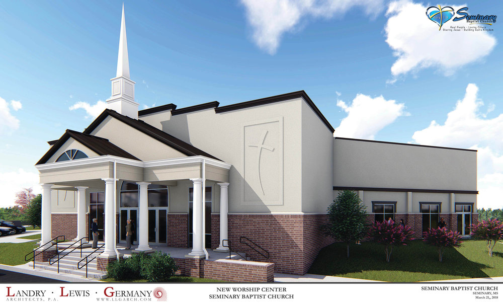 Work has begun on Phase One of our new facilities - We are moving Forward by Faith!