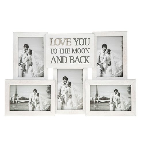 Love You To The Moon And Back Multi-Photo Frame — Little Timbers