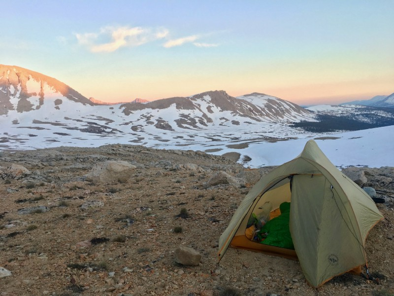 Big Agnes should pay me for this gorgeous shot of their tent. Call me, BA.