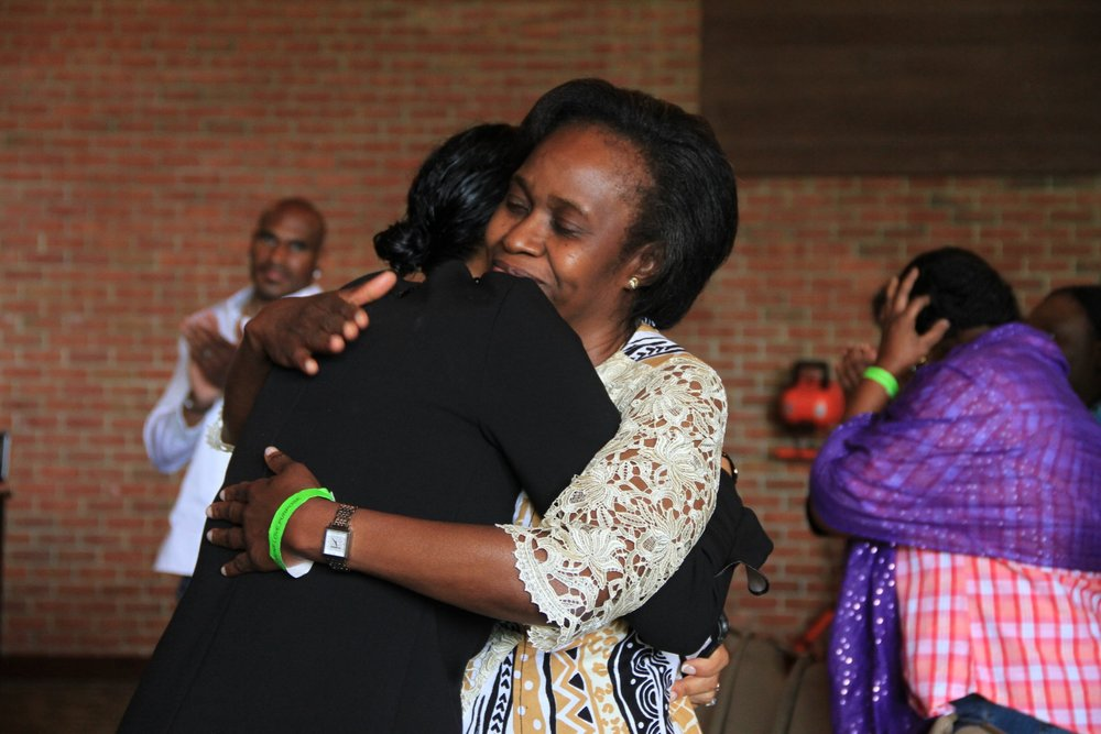 Terri Matthews & Pastor Funmi Obilana
