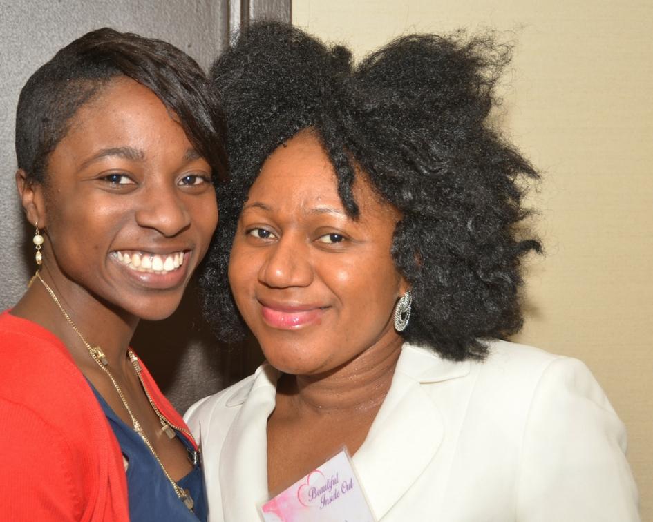 (L-R) Esther Adeyemi & Tinnue Waylee