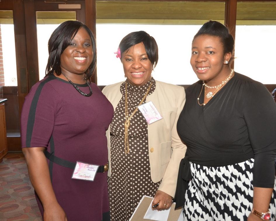 (L-R) Toyin Ogunsola, Anthonia Lawrence, Toyin Ogunsola