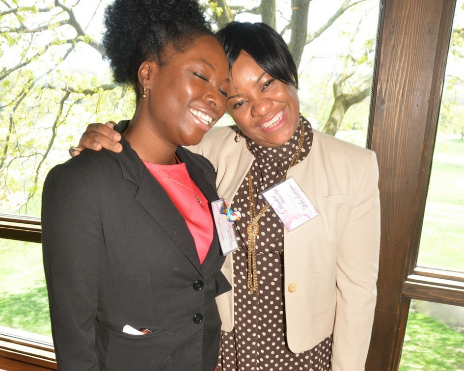 (L-R) Toyin Erinle & Anthomia Lawrence