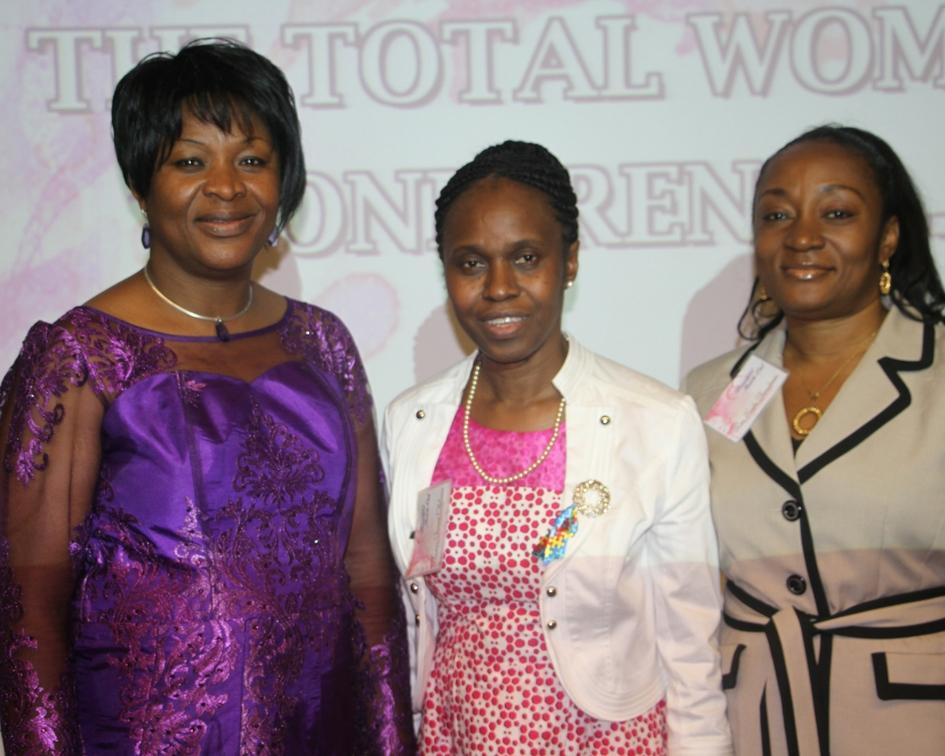 Pastor Esther, Pastor Funmi & Rev Sade