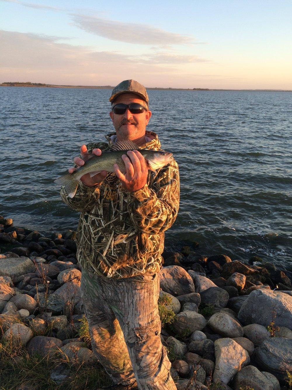 My first North Dakota walleye  Photo by:@MeganNicoleMahon