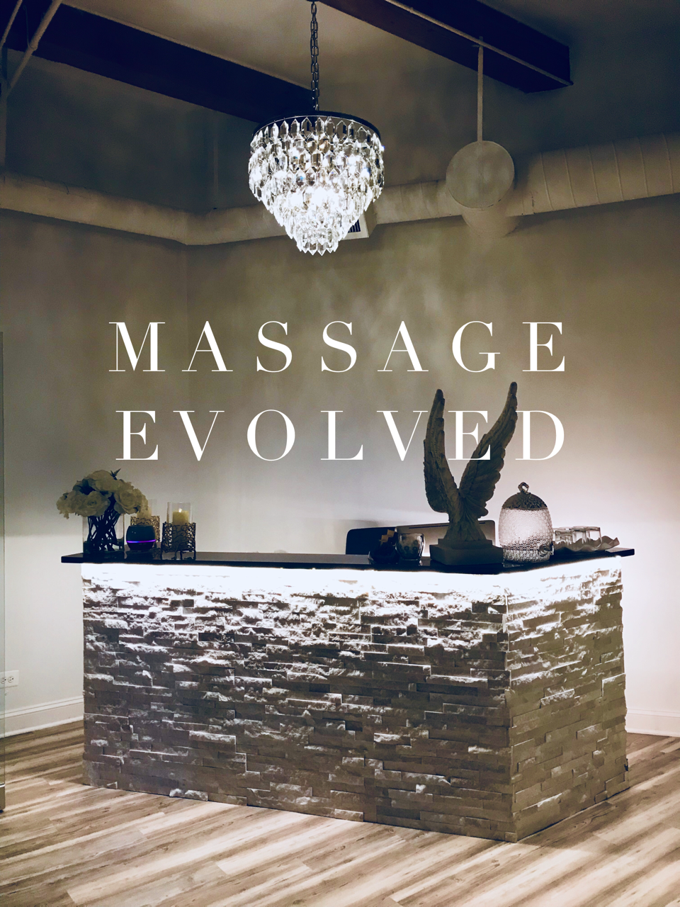 MASSAGE EVOLVED - 118 N. CLINTON STREET SUITE 205| CHICAGO IL 60661