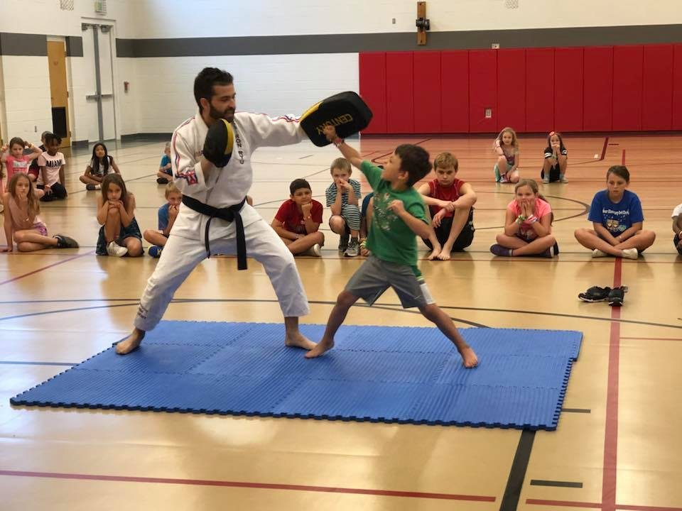 Sensei Randy with student