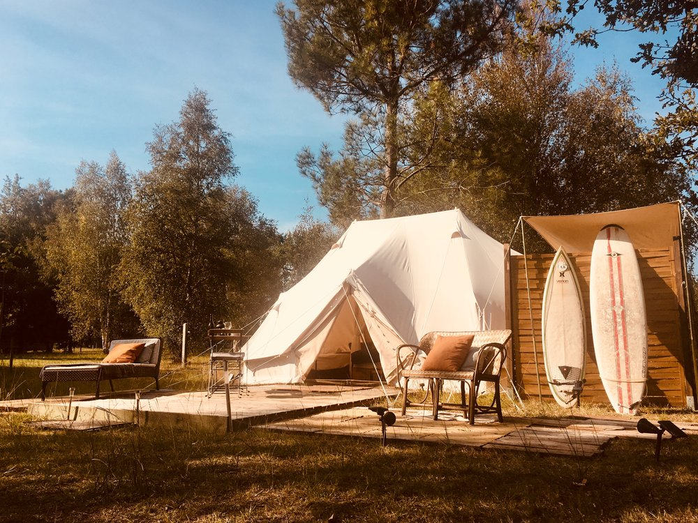 ULTIMATE EMPEROR BELL TENT - ENSUITE  (32m2/320ft2)