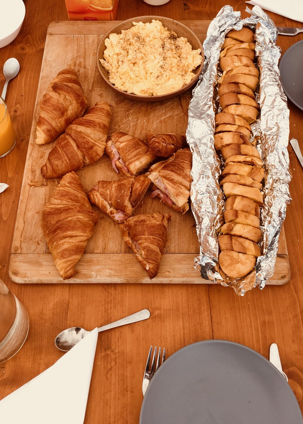 breakfast 1 sanctuary surf holiday croissant baguette.jpg