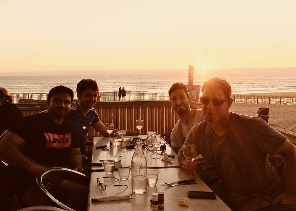 lads dinner sunset beach sanctuary surf holiday-min.jpg