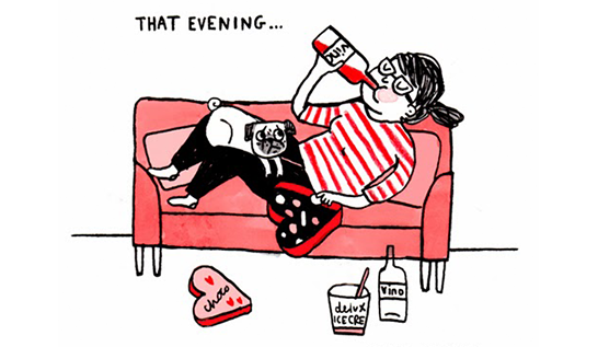 That Evening, by  Gemma Correll