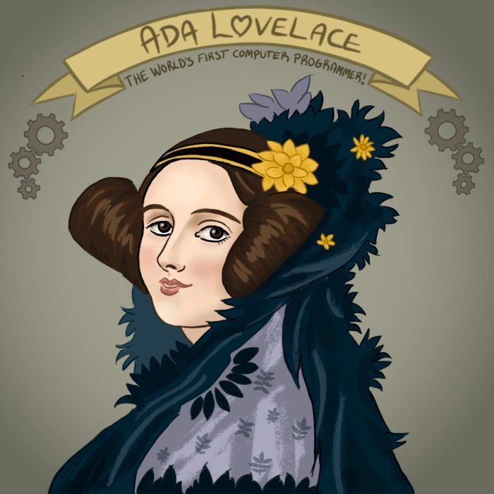 Ada Lovelace: World's First Computer Programmer (Picture by    Charlotte Ridler   )