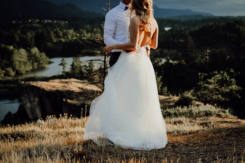 Harper + Trevor - PNW Sunset Styled Wedding