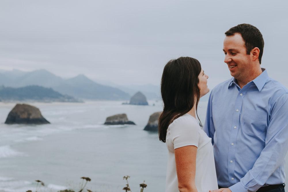 Cannon Beach Engagement Photographer Portland Oregon