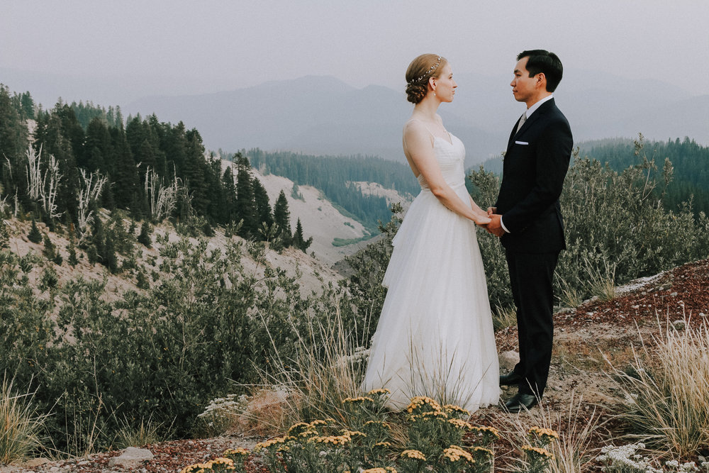 Mt Hood Elopement Wedding Photographer Portland Oregon