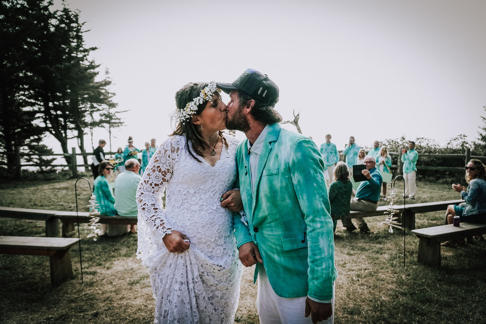 Jamee + George - A Pacific City Oregon Coast Wedding