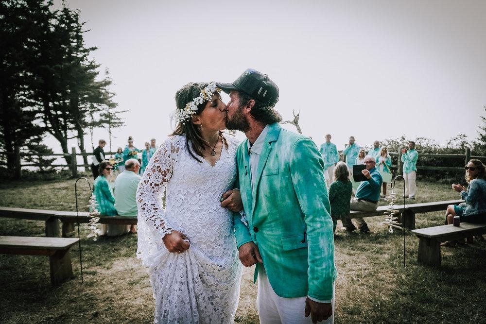 Jamee + George - A Pacific City Oregon Coast Wedding
